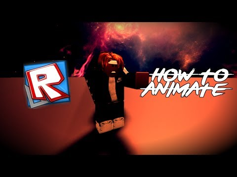 ROBLOX TUTORIAL - How to Animate & Edit Videos