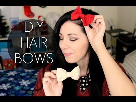 DIY HAIRBOWS (no-sew) ^^