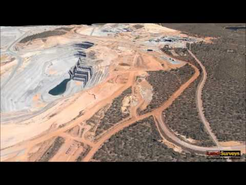 Land Surveys XCAM Gold Mine 3D Flythrough - WATCH IN HD