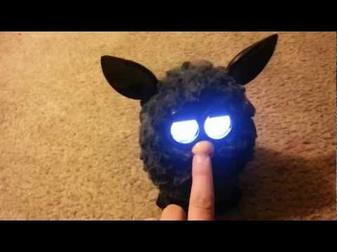How to turn your furby evil