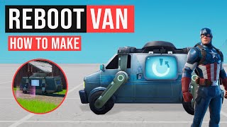 How to get Reboot Van in Fortnite Creative