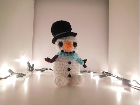 David's Crochet Snowman Tutorial