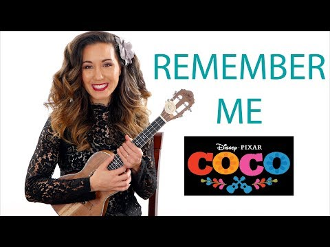 Remember Me - Pixar's Coco - Ukulele Tutorial and Play Along Part 1