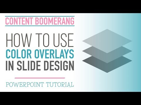 How to Add an Overlay to Emphasize PowerPoint Slide Elements [PowerPoint tutorial]
