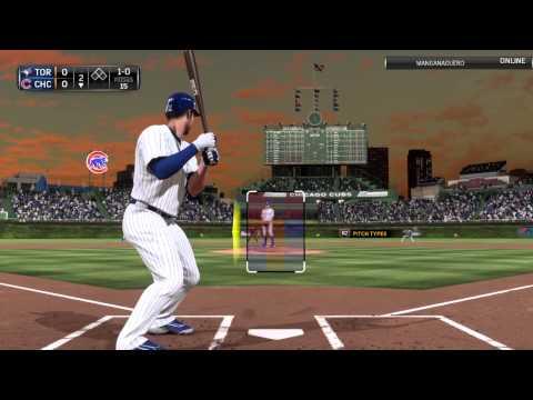 Kris Bryant first AB HR - MLB 15 The Show