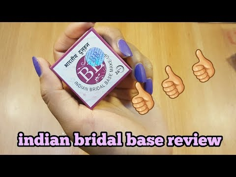 Indian bridal base review....
