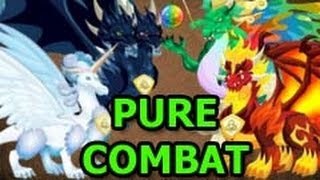 Pure DARK FLAME And Dragon Also LEGENDARY COMBAT VIDEO Attacks