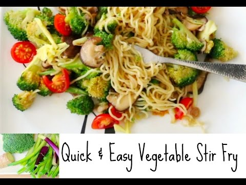 Vegetable Stir Fry With Mushrooms Recipe Quick & Easy Intermittent Fasting Meal Plan Ideas