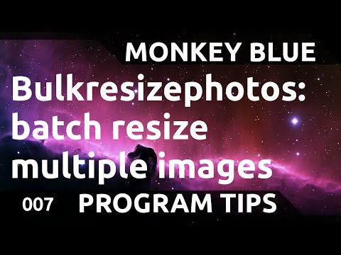 Bulkresizephotos: how to batch resize multiple images at once (part 2 of 2)