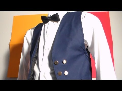 The gentleman pants and vest set, made from scratch part 3