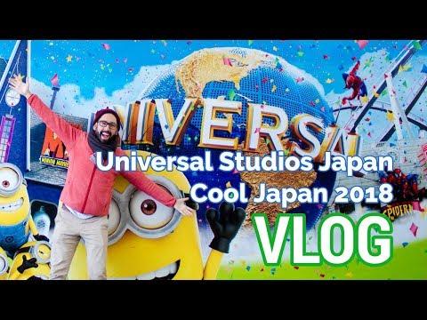 VLOG: Cool Japan 2018 at Universal Studios Japan