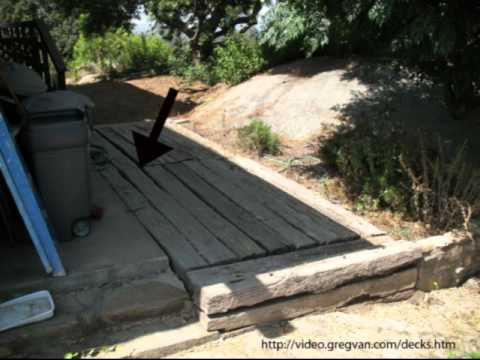 Watch This Video before Using Railroad Ties for Decks - Construction Tips