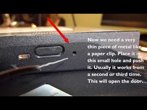 How To Replace Dell Inspiron 1525 Laptop DVD Drive
