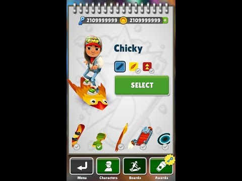 How To Get Unlimited Of Coins And Keys For  Subway Surfers Game ( NO ROOT )