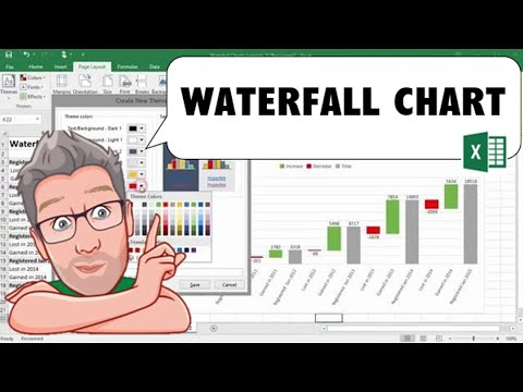 Creating a Waterfall Chart in Excel 2016