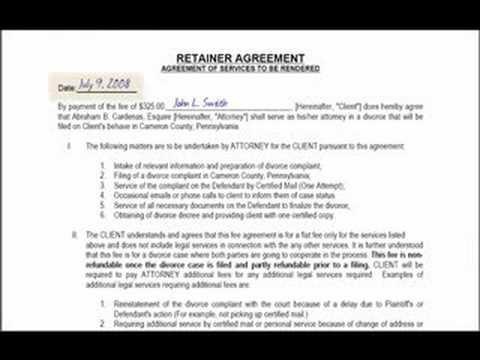 Pennsylvania Separation Divorce Forms
