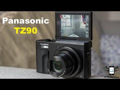 Panasonic Lumix DC TZ90 4k Camera Unboxing