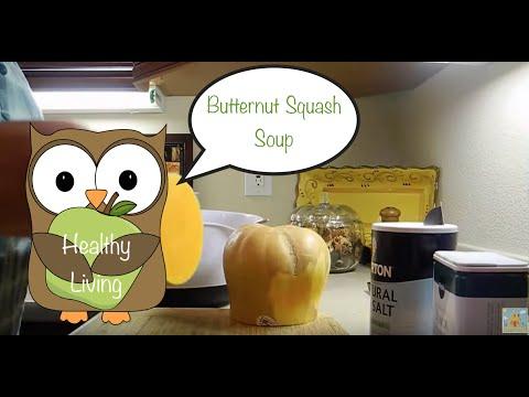Healthy Living: Homemade Butternut Squash Soup