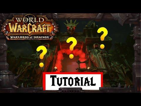 Wie komme ich nach Draenor? - Portal nach Draenor - World of Warcraft Tutorial German