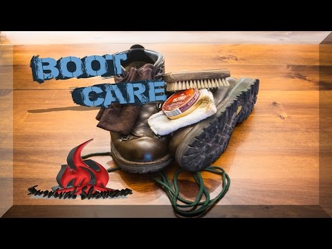 Danner Boot Care Leather Boots Clean & Polish