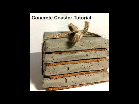 Concrete Coaster Tutorial