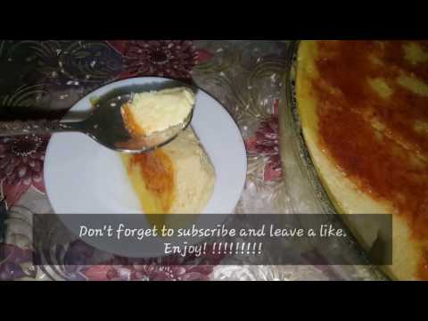MAKING OF EGG PUDDING IN THE MICROWAVE!