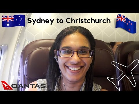 Flying Sydney to Christchurch   Qantas business class review