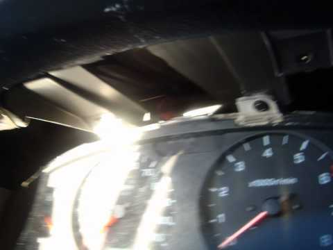 01 NISSAN FRONRTIER change Speedometer Gauge Blue Light Bulb