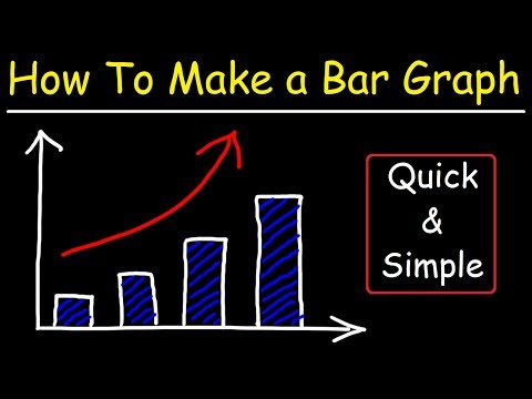 How To Make a Bar Graph In Excel - VERY EASY!