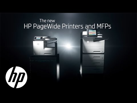 HP PageWide Printers and MFPs | Official First Look | HP