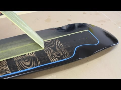 How to paint / spray paint a Skateboard by Jon Peters