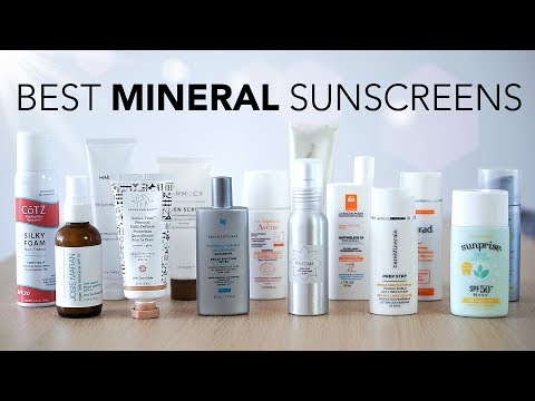 Best 100% Mineral Sunscreens No Whitecast | Review