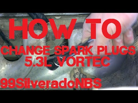 How to Change Spark Plugs on 5.3L Vortec