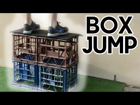 (INCREASE YOUR VERTICAL JUMP) - DIY Box Jump / Plyometric Box