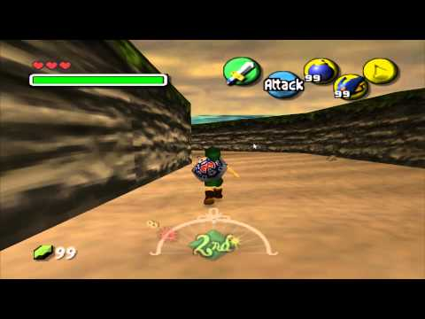How to get the Zora mask before Woodfall temple in Majora's mask.