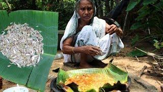 Chingri Macher Paturi using Banana Leaf by Grandma | Prawn Paturi Traditional VIllage Food