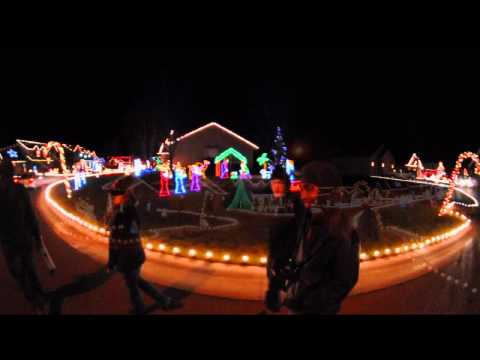 Christmas Lights in Wichita KS 2011 - The McKinney's, Candy Cane Lane, & 1122 N Lawrence Ct