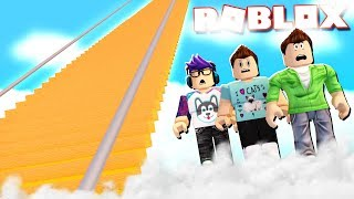 CAN YOU CLIMB 9999 STAIRS TO HEAVEN IN ROBLOX?