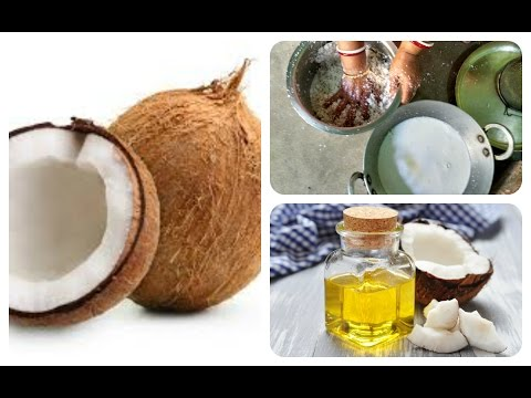 How to make coconut oil in your home | Coconut oil making | Coconut oil manufacturing process