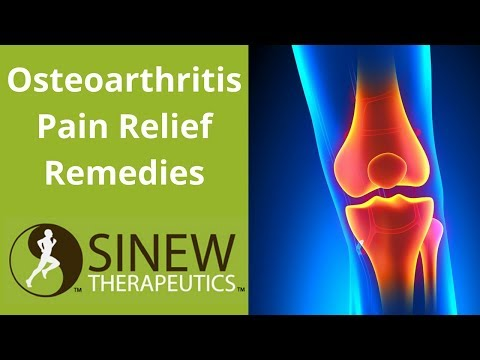 Osteoarthritis Pain Relief Remedies