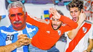 Reacciones de HIJO de RIVER y PADRE de RACING (1-6) | Torneo Argentino 2019