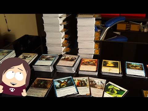 Sorting through the Madness...  || ~1500+ Uncommon Magic The Gathering Cards