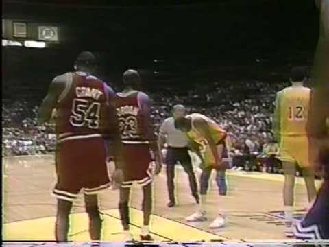 Bulls vs Lakers - 1991 Finals Game #5 - Second Half  - Jim Durham & Johnny