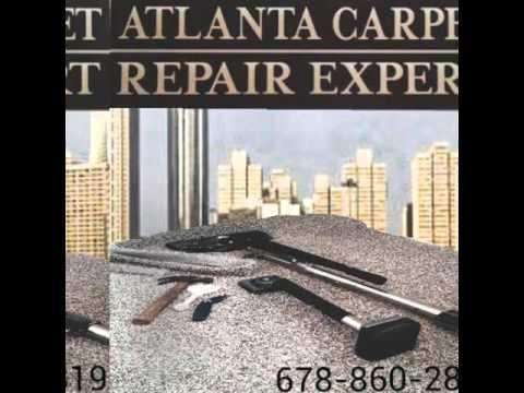 PET DAMAGED CARPET FULL REMEDIATION/ ATLANTA CARPET REPAIR EXPERT