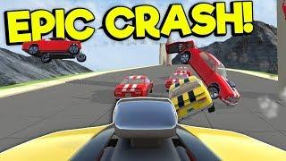 Download CRASHING & RACING ON NEW LEVELS! - Crash Wheels Gameplay Update - Physics Based Destruction Video