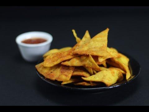Nacho Chips | Sanjeev Kapoor Khazana