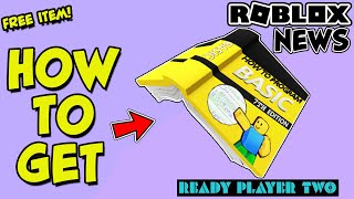 """[EVENT] HOW TO GET THE """"HOW TO PROGRAM BASIC"""" BOOK HAT IN ROBLOX - Ready Player Two Event *FREE ITEM"""