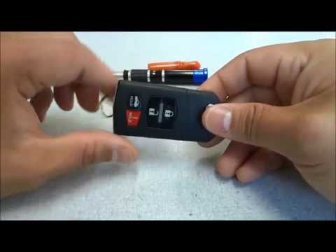 How To Change The Battery For A Mazda Flip Key (4 Button)