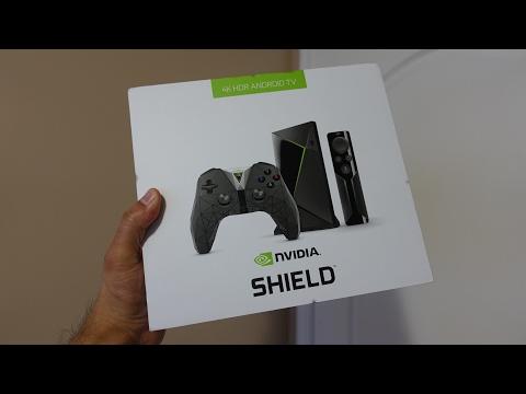Nvidia Shield v2 (2017 model) Unboxing
