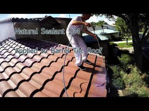 Spanish Spring Barrel Tile Roof